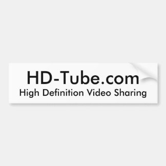 HD-Tube Bumper Sticker
