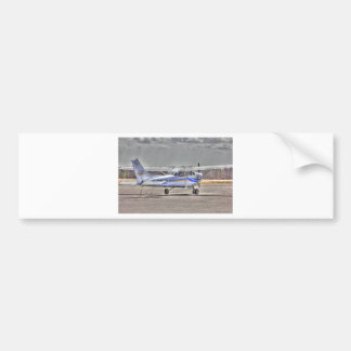 HDR Airplane Tied Pointed to Fly Bumper Sticker