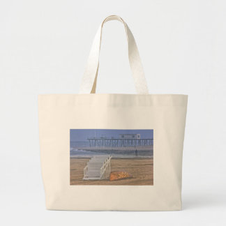 HDR Beach Landscape Oceanview Lifeguard Stand Tote Bag