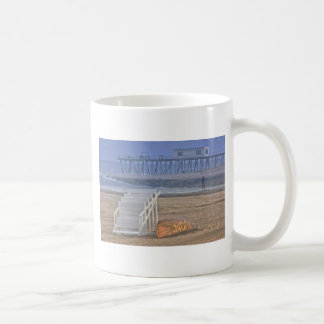 HDR Beach Landscape Oceanview Lifeguard Stand Coffee Mug