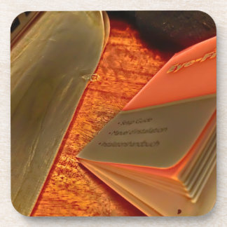 HDR BOOK COASTERS