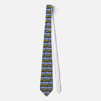 HDR Classic Hot Rod Yellow Neck Tie