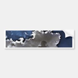 HDR Clouds Bumper Sticker