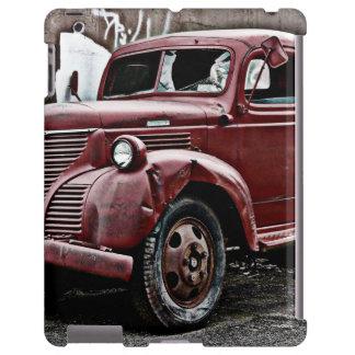 HDR Crumpled Mangled Old Truck