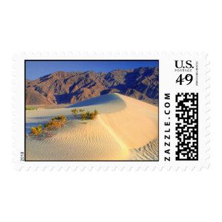 HDR Death valley sand dunes Postage