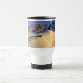 HDR Death valley sand dunes Travel Mug