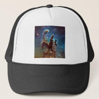 HDR Eagle Nebula Pillars of Creation Trucker Hat