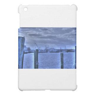 HDR Fishing Boat Distance Two Poles iPad Mini Case