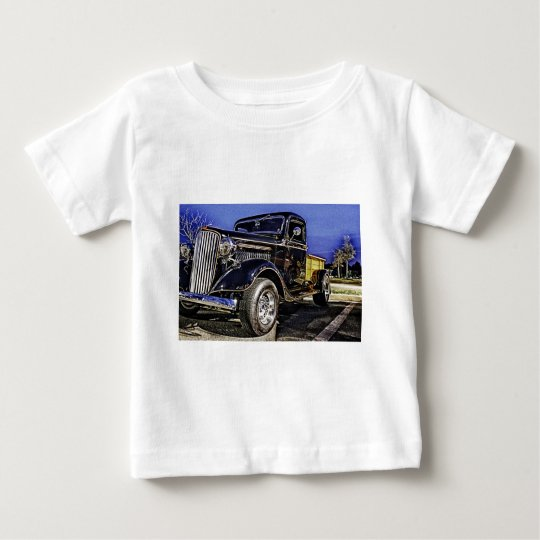 HDR GMC Classic Truck Old School Baby T-Shirt