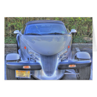 HDR Gray Plymouth Prowler Ready to Go Card