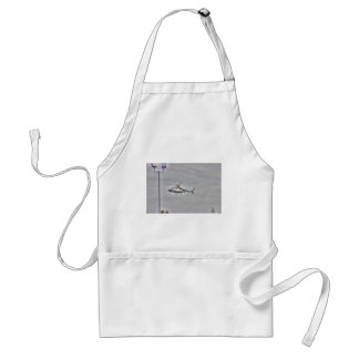 HDR Helicopter Flying Adult Apron