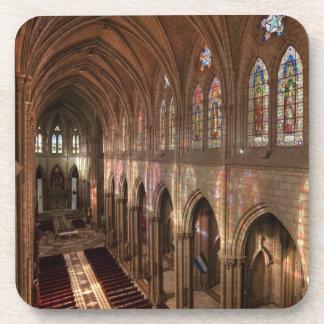 HDR image of Basilica interior, Quito, Ecuador Coaster