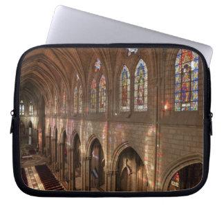 HDR image of Basilica interior, Quito, Ecuador Laptop Sleeves