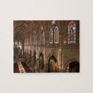 HDR image of Basilica interior, Quito, Ecuador Puzzles