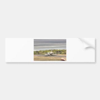 HDR Jet Plane AirBrakes On Bumper Sticker