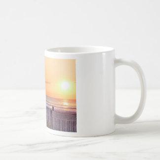 HDR Ocean Beach Sunrise  Seascape Sun Oceanview Classic White Coffee Mug