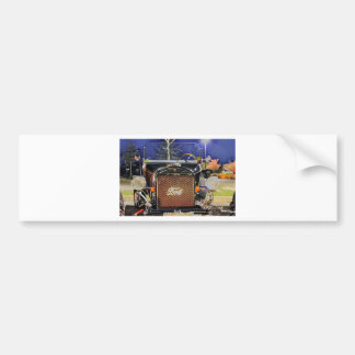 HDR Old Vintage Classic Hot Rod Bumper Sticker
