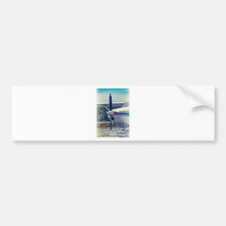 HDR Plane Propeller Closeup Bumper Sticker