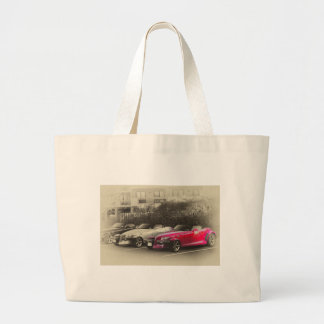 HDR Prowlers Black White Red Showing Tote Bag