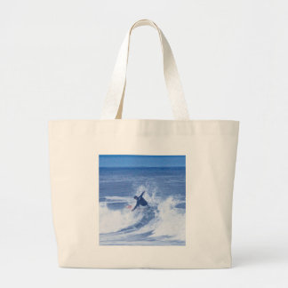 HDR Surf Pictures Guy Hands Spread Open Tote Bags