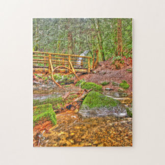 HDR waterfall Jigsaw Puzzles