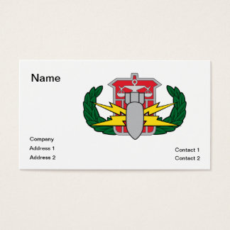 HDS badge Business Card
