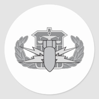 HDS badge Classic Round Sticker