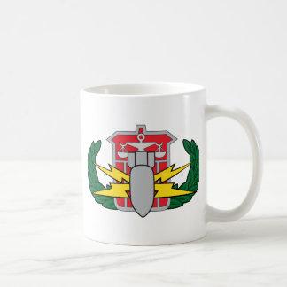 HDS badge Classic White Coffee Mug