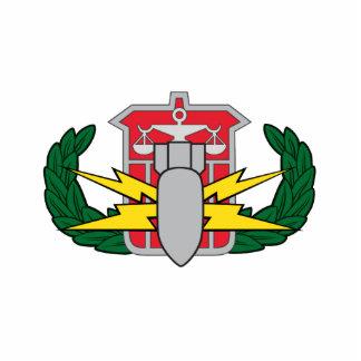 HDS badge Statuette
