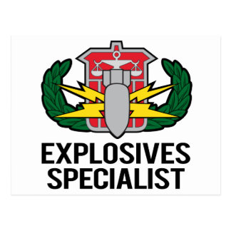 HDS Explosives Specialist Post Cards
