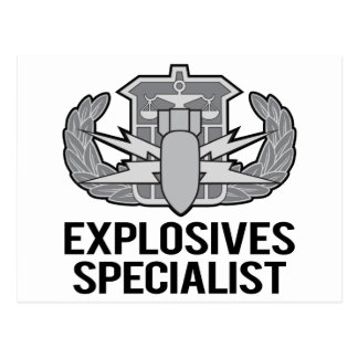 HDS Explosives Specialist Post Card