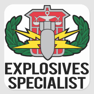 HDS Explosives Specialist Sticker