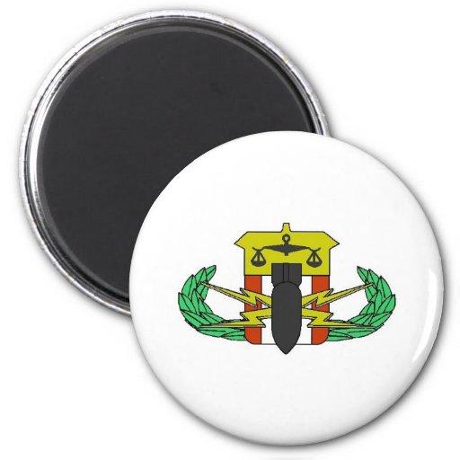 HDT Badge 2 Inch Round Magnet