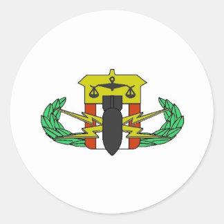 HDT Badge Classic Round Sticker