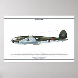 He-111 KG1 1 Póster