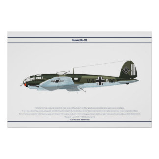 He-111 KG1 2 Poster