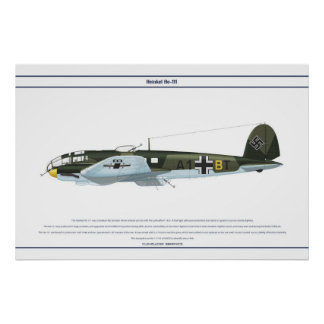 He-111 KG53 1 Poster