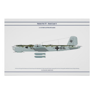 He 177 Load 4 Poster