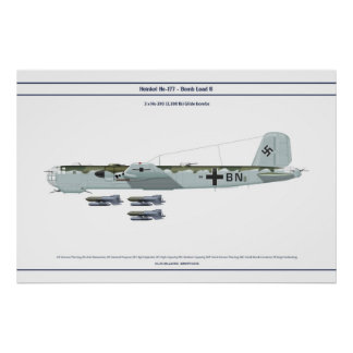 He 177 Load 6 Poster