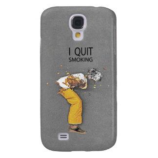 ¡He abandonado fumar! Funda Samsung S4