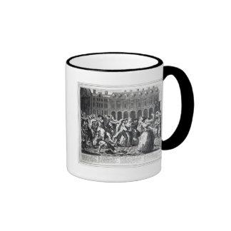He and His Drunken Companions Raise Ringer Mug
