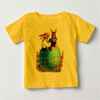 HE AND SHE EASTER RABBITS BABY T-Shirt