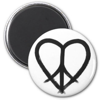 HE(ART) of Peace Refrigerator Magnets