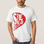 HE ASKED SHE SAID YES,ENGAGEMENT T-SHIRT