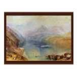 he Bay Of Baia With Apollo And The Sibyl By Turner Postcard