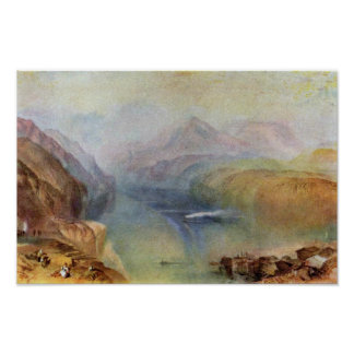 he Bay Of Baia With Apollo And The Sibyl By Turner Poster