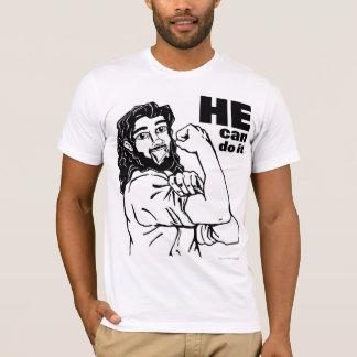 He Can Do It T-Shirt