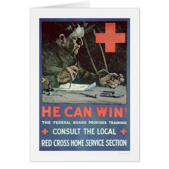 He Can Win! (US00233) Card
