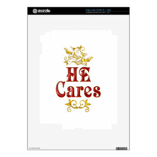 HE Cares Decals For The iPad 2
