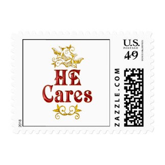 HE Cares Postage
